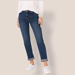 J. Jill Weekender Straight Leg Jean Sz 6